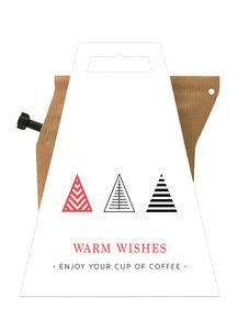 Koffie, warm wishes