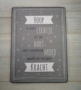 Hoop is een lichtje in je ♥...