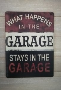 What happens in the garage, stays in the garage