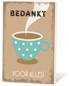Koffie, bedankt voor alles