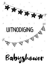 Uitnodiging, babyshower