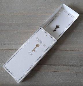 De sleutel naar succes in een luxe doosje