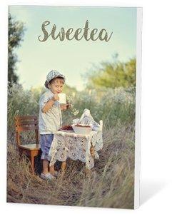 Sweetea, thee in een kaartje