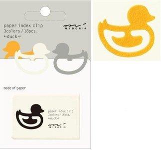 Paper index Duck