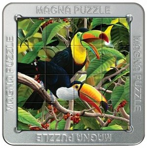 3d puzzel, toekans