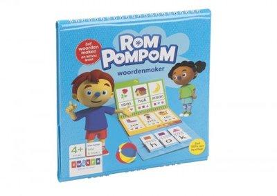 Rom pompom, woordenmaker