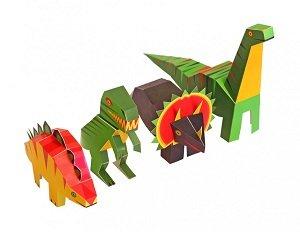 Dinosaurussen bouwen