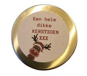 Kaars, een hele dikke kerstzoen xxx