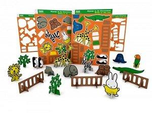 Nijntje in de dierentuin, bouwpakket