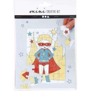 "DIY puzzel ""superman"""