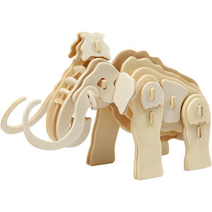 3d houten constructieset mammoet