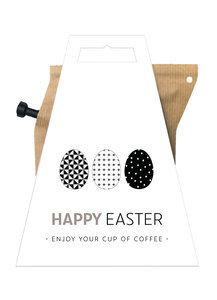 Koffie brewer, happy easter