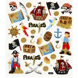 Stickervel piraten