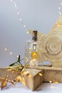Sfeerlampjes in fles.