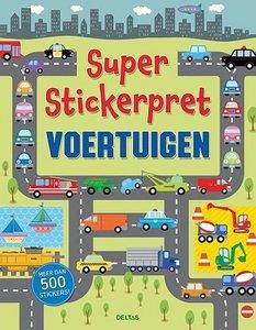 Super stickerpret voertuigen