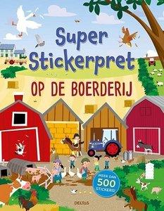 Super stickerpret op de boerderij