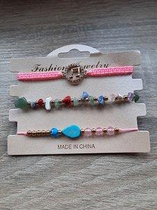 3 leuke armbanden met natuurstenen