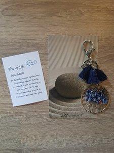 Tassenhanger Lapis Lazuli natuursteen
