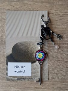 Tassenhanger Sleutel Nieuwe Woning! Onyx
