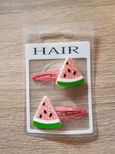 Set haarspelden, meloen