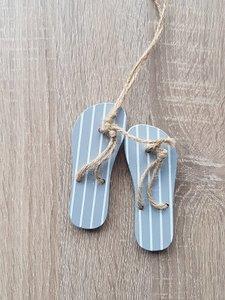 Houten hanger slippers