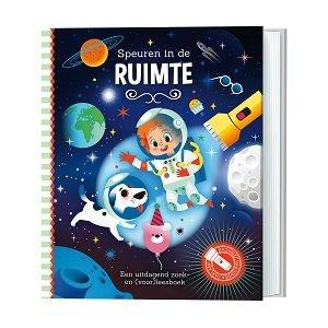 Kinderboek: Speuren in de Ruimte
