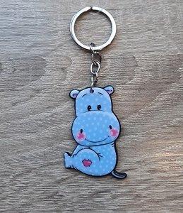 Sleutelhanger, nijlpaard