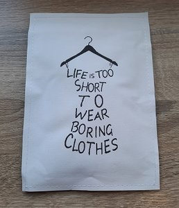 Geursachet, life is too short to wear boring clothes