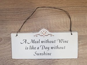 Bordje, A Meal without Wine is like a Day without Sunshine