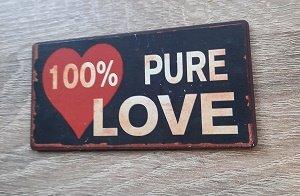 Magneet 100% pure love