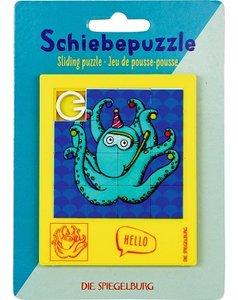 Schuifpuzzel inktvis