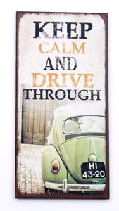 Magneet Keep Calm and Drive Through