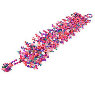 Armband bonte kralen