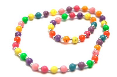 Kinderketting en armband Smile