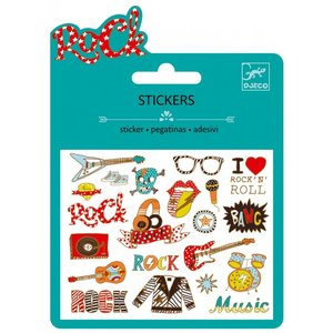 Djeco mini stickers rock