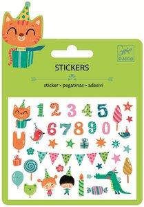 Djeco, feest stickers