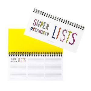 Super list organized