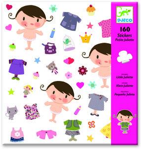 Djeco stickers kleine Juliette