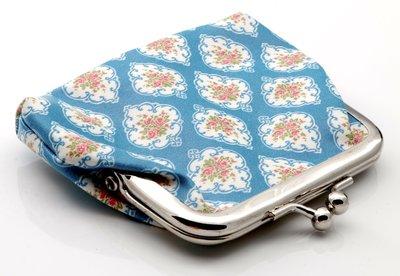 Portemonnee schattig blauw