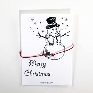 Merry Christmas (sneeuwpop)