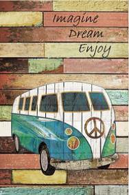 Imagine, dream, enjoy