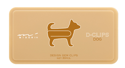 Paperclips hond