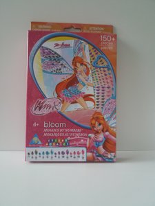 Mozaiek, Winx met stickers
