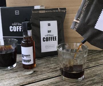 Koffie giftset met siroop