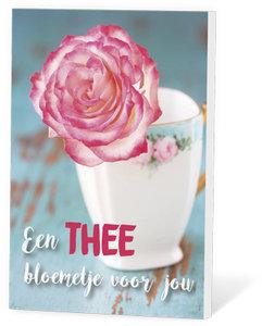 Een thee bloemetje voor jou
