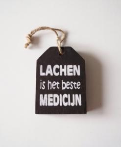 Lachen is het beste medicijn