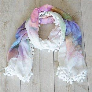 Sjaal, vrolijke kleurtjes