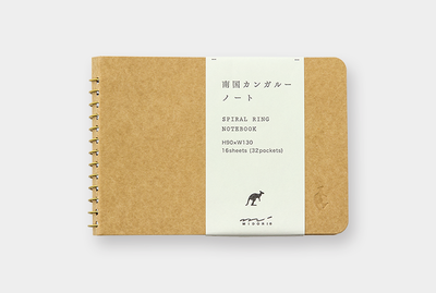 Notebook B7, kangaroo