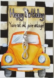 Kaartje, happy birthday wishes from the heart
