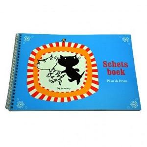 Schetsboek van Pim en Pom